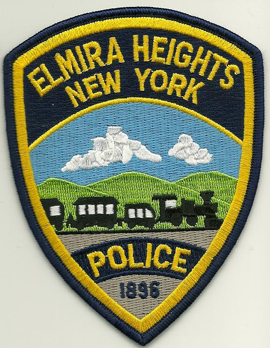Elmira  Heights Police NY TRAIN