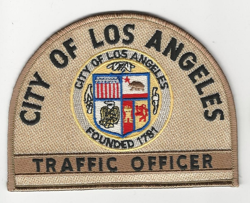LA Traffic Officer California