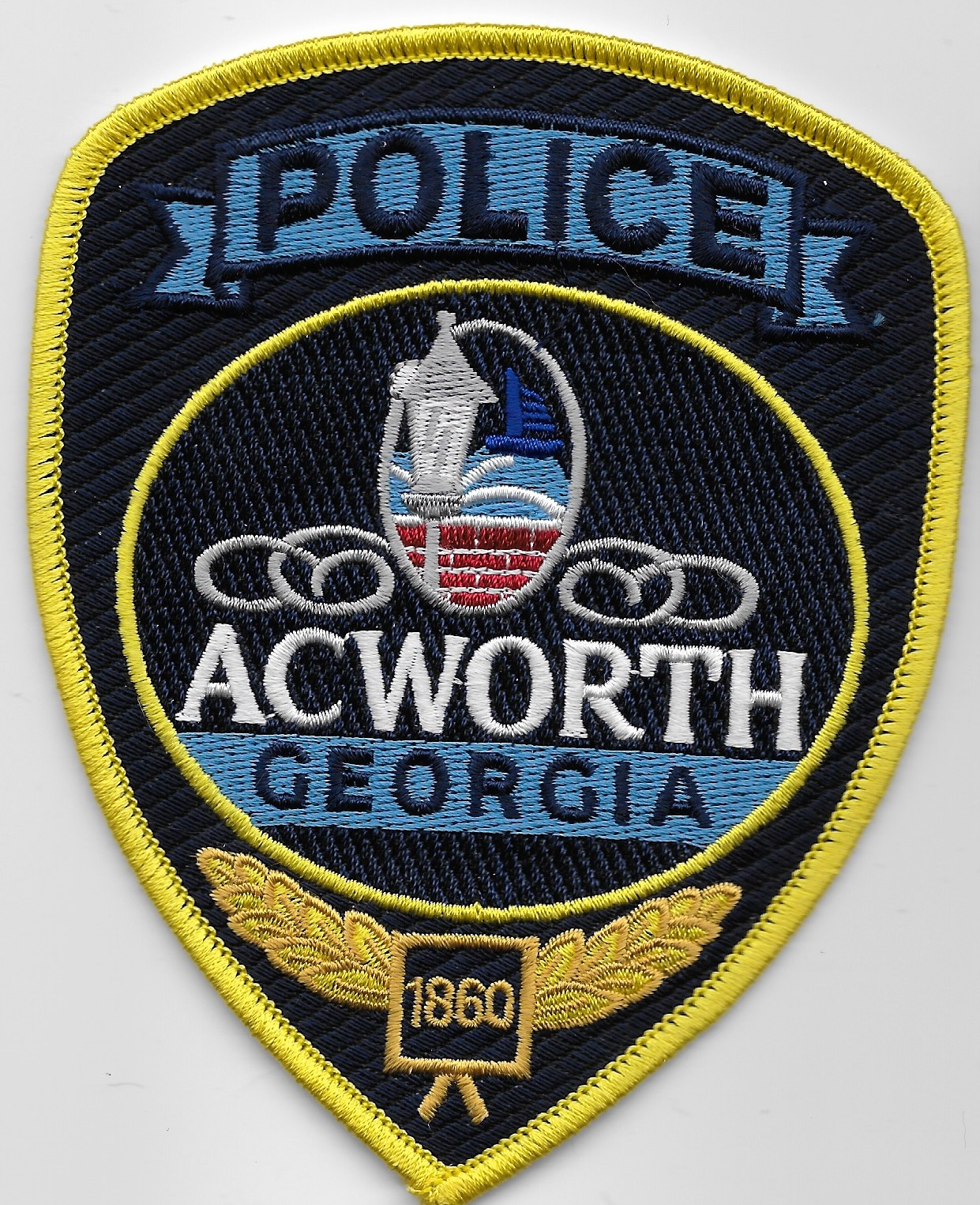 Acworth Police GA NEW