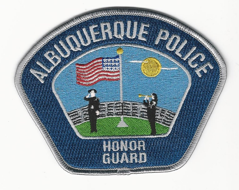 Albuquerque Police Honor Guard NM Silver