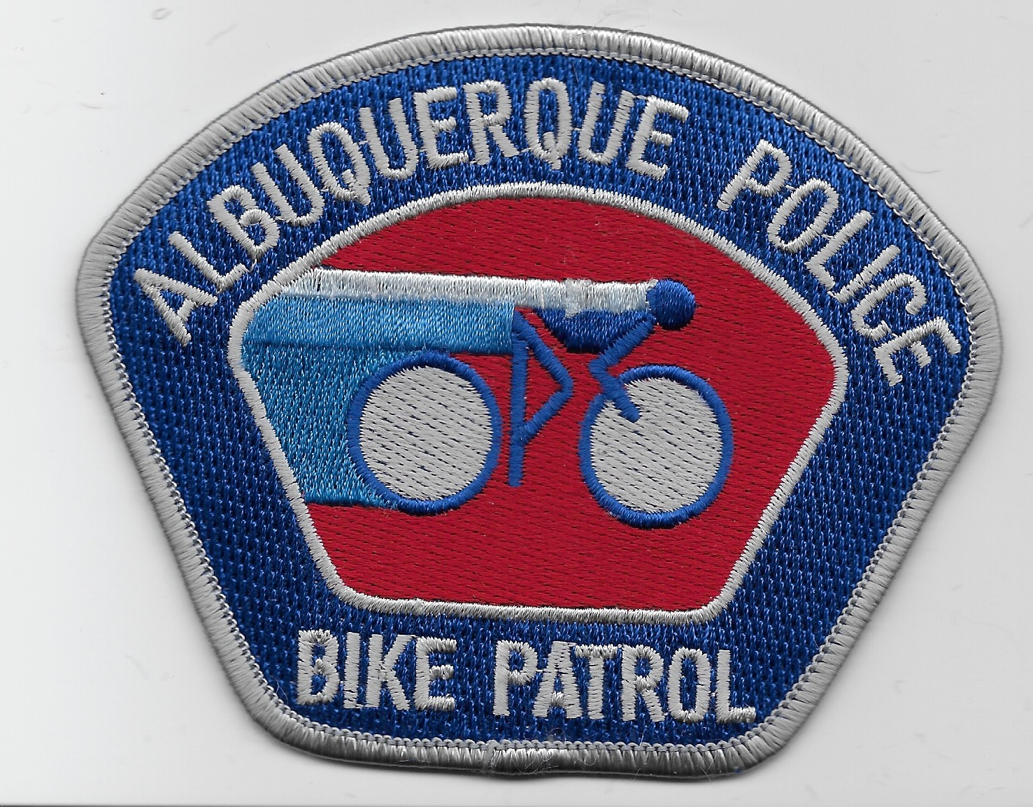 Albuquerque Police Bike Silver NM