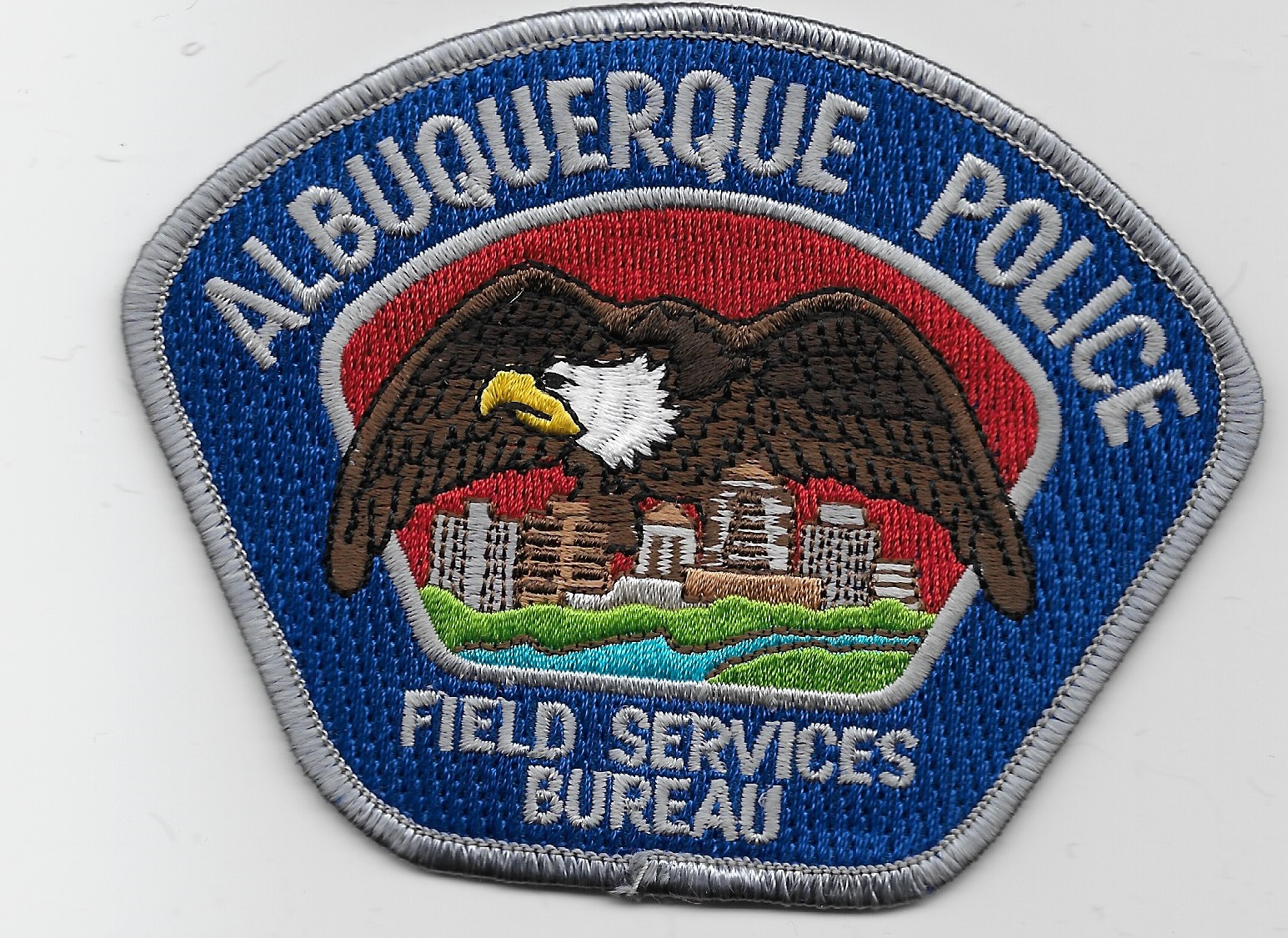 Albuquerque Police Field Serv Gray NM