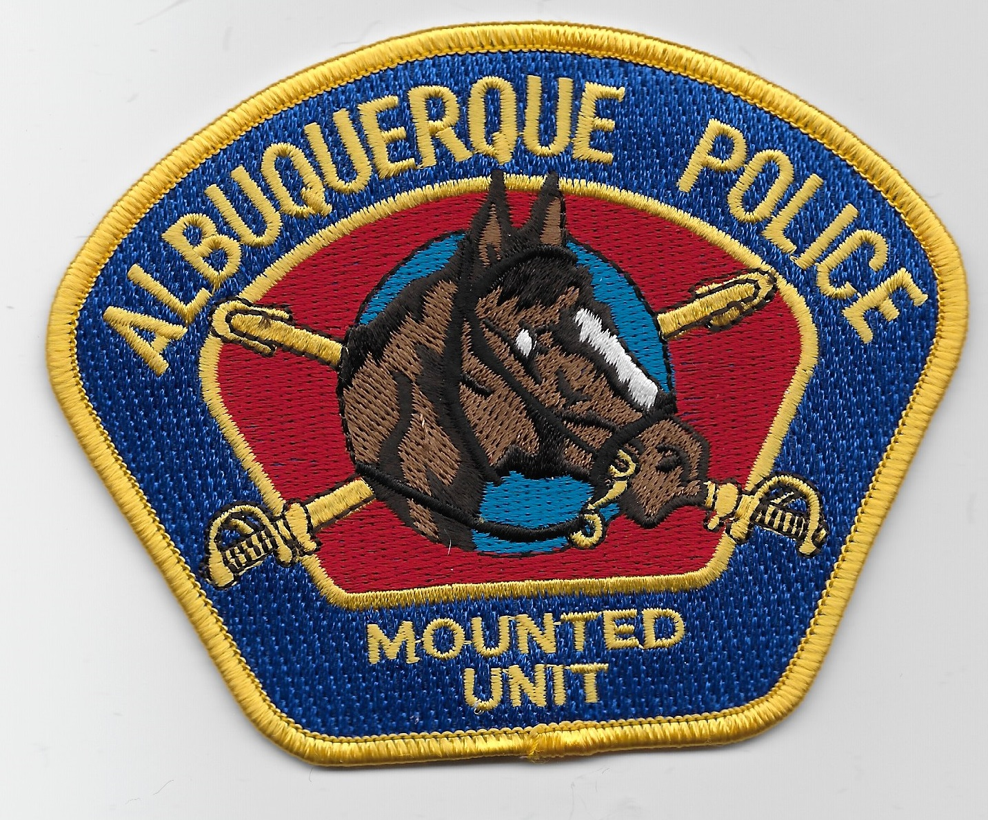 Albuquerque Police Mounted Gold NM