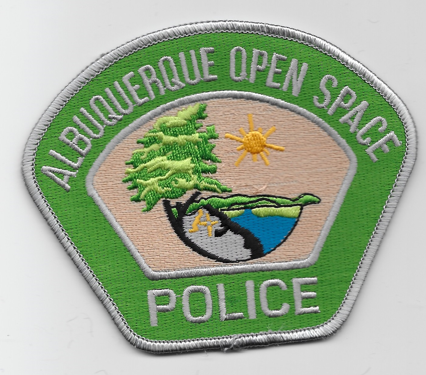 Albuquerque Police Open Space Green NM