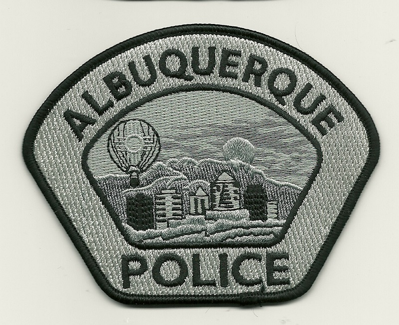 Albuquerque POlice Urban Camo Gray patch