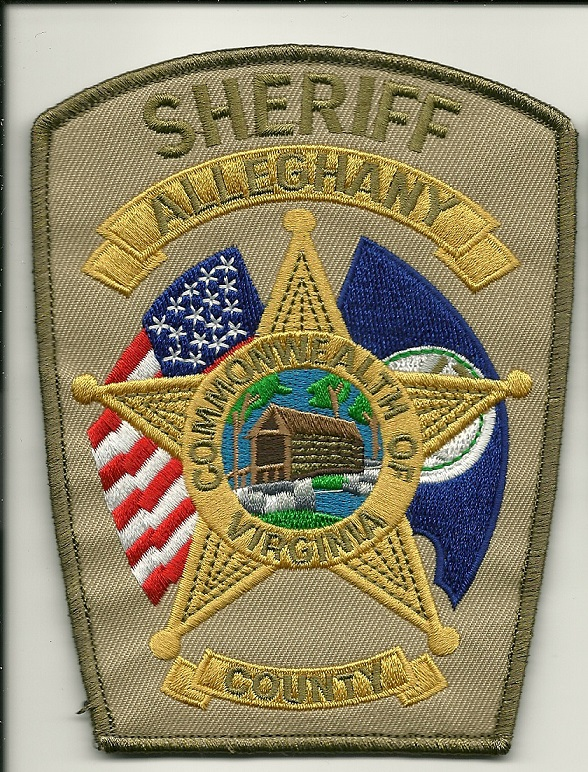 Alleghany County Sheriff patch VA