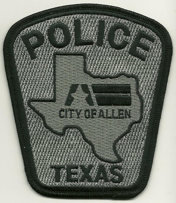 Allen POlice SWAT Subdued patch
