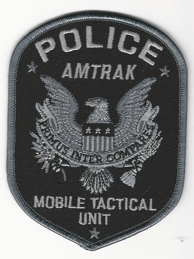 Railroad Police Mobile Tactical Unit Black & Dark Gray