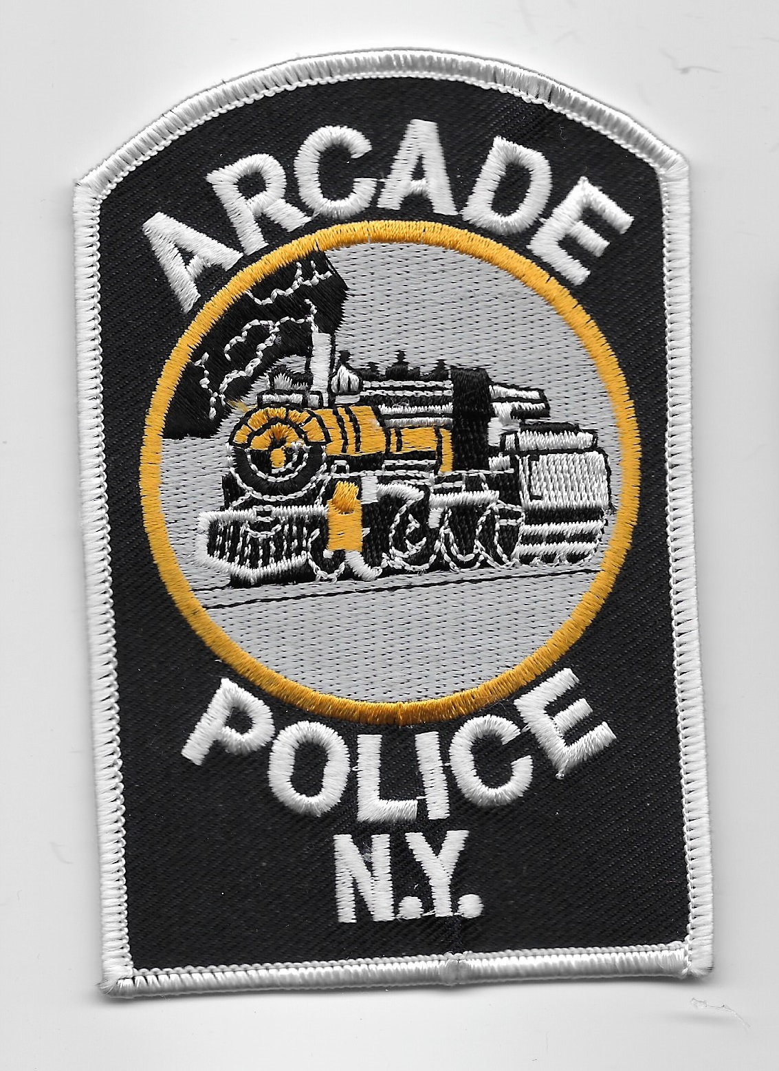 Arcade Police NY Train patch