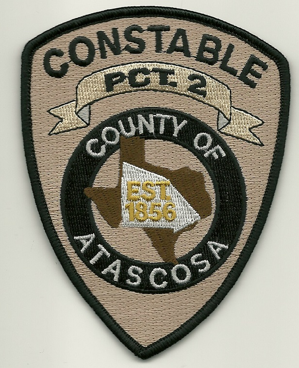 Atascosa County Constable PCT 1 Texas TX patch