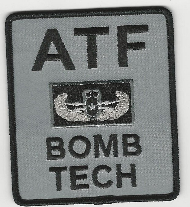 ATF Bomb Tech EOD  GRAY