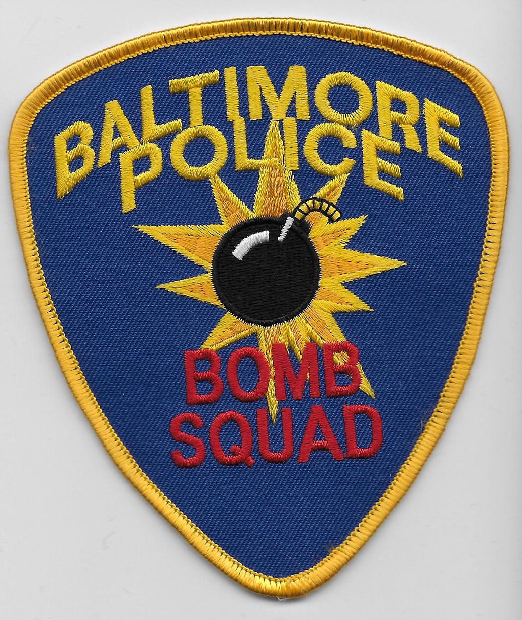Baltimore Police Bomb Squad MD