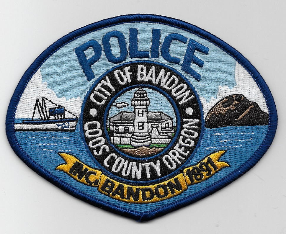 Bandon Coos police OR NEW Lighthouse