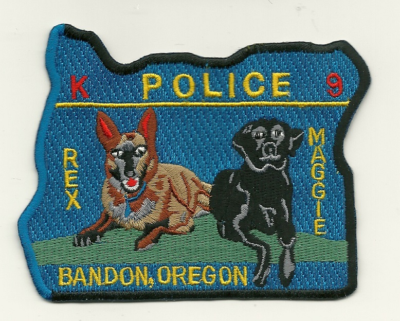 Bandon Police OR k9 (2 Dogs)