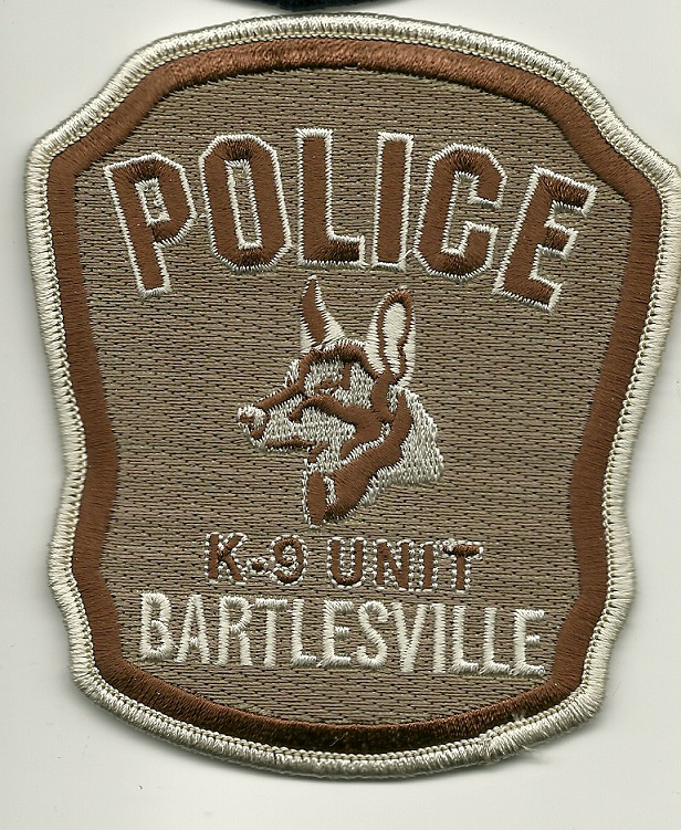 Bartlesville Police K9 Arkansas