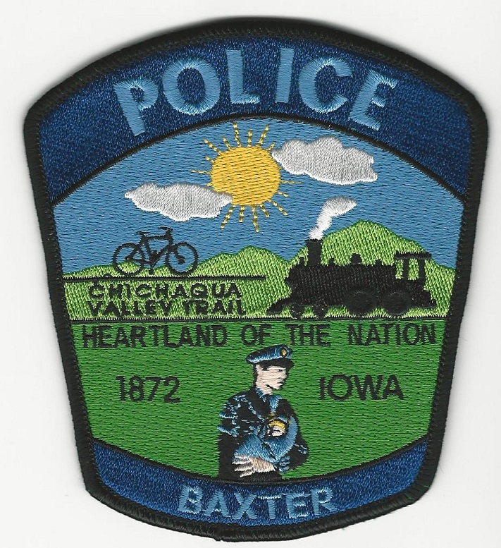 Baxter Police IA TRAIN