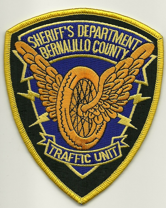 Bernallillo County Sheriff Motors OLDER STYLE patch