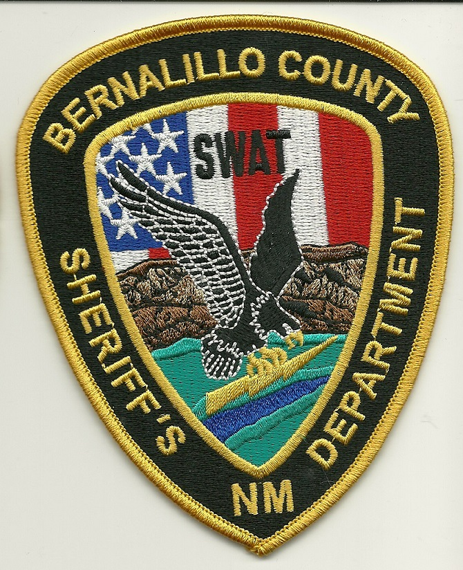 Bernallillo County Sheriff SWAT SRT patch NEW MEXICO
