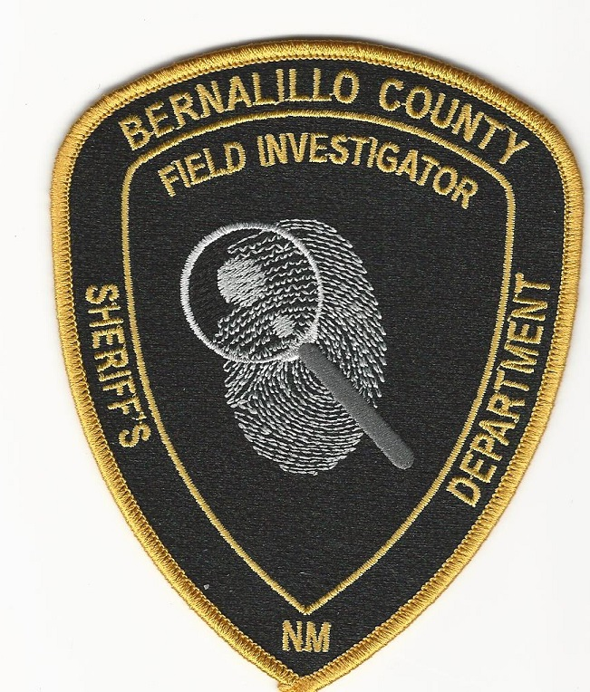Bernallillo County Sheriff Field Invs CSI