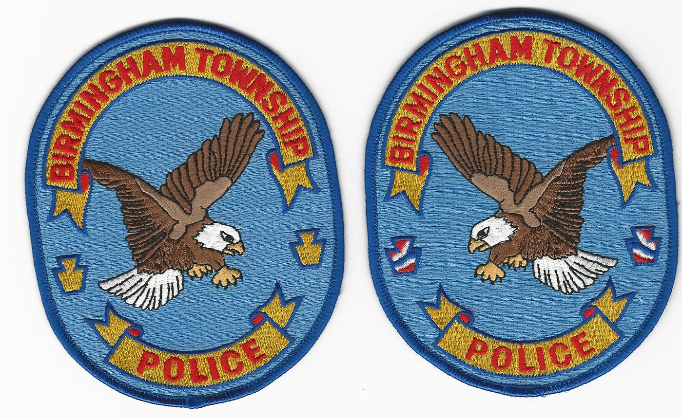 Birmingham Police Pennsylvania Mirrored Set