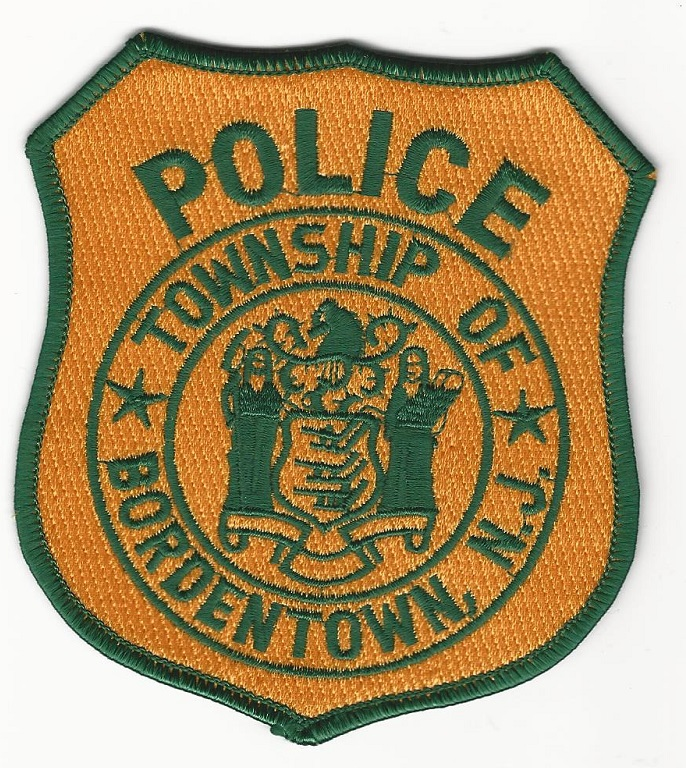 Bordertown POlice New Jersey patch