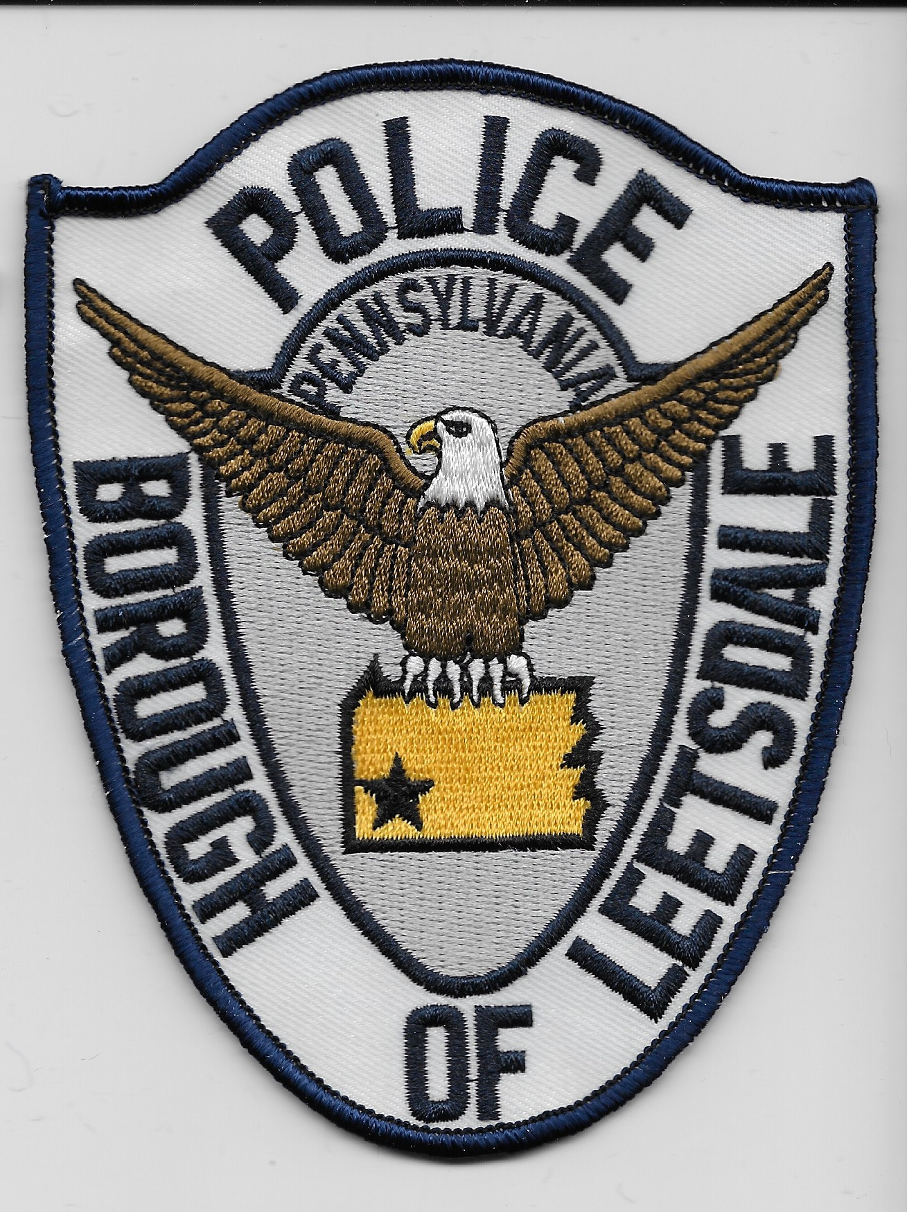 Borough of Leetsdale Police gray PA
