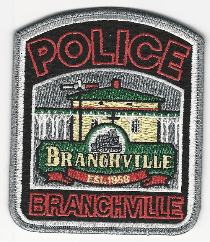 Branchville Police State South Carolina Train patch SC