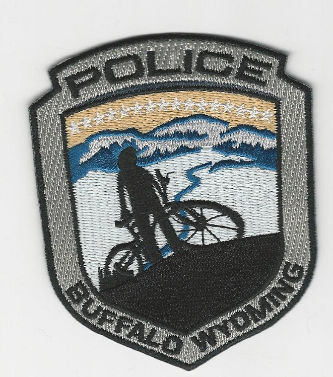 Buffalo Police Bike Unit WY c/s