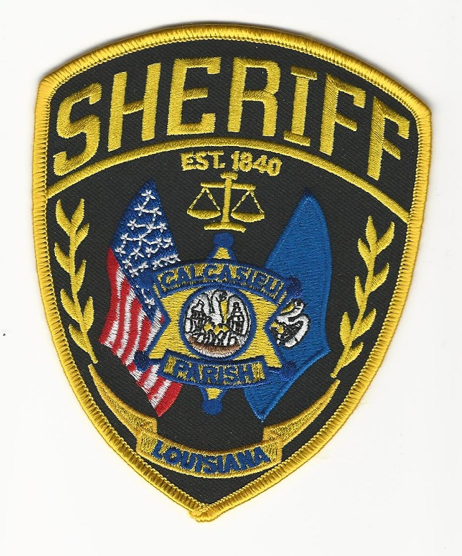 Calcasieu Parish Sheriff State Louisiana LA NEW