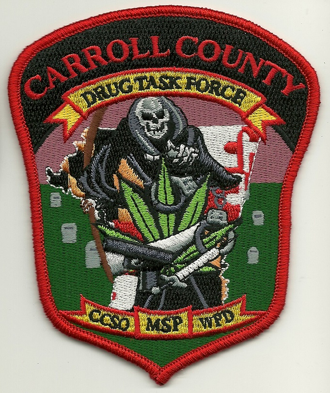 Maryland State Police Carrol County Narcotics MD