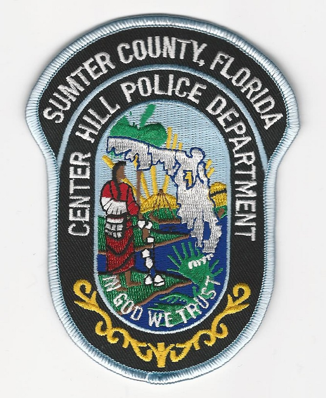Center Hill POlice State Florida FL patch