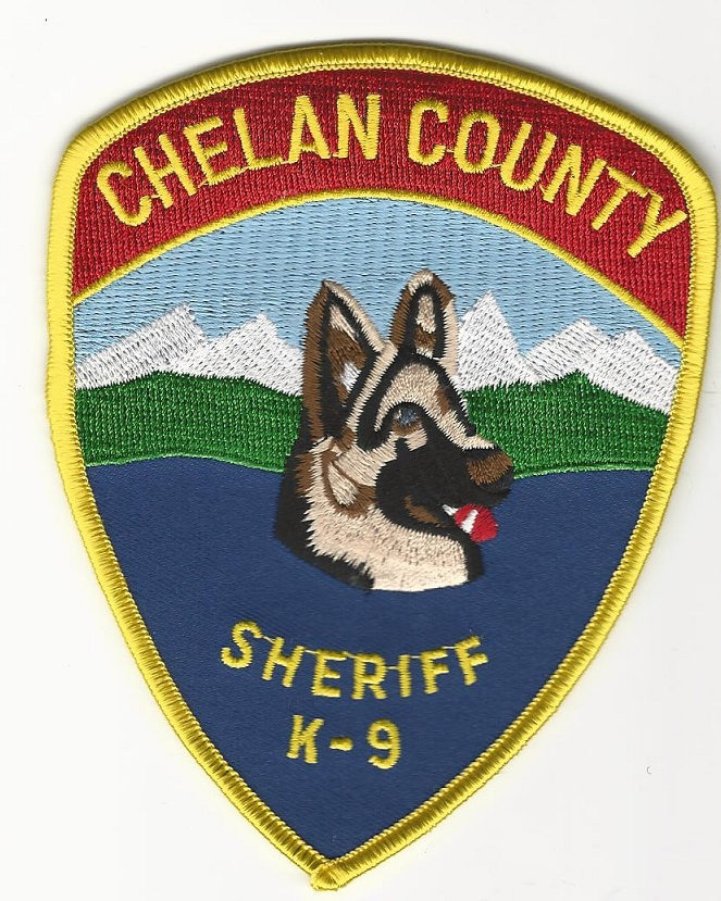 Chelan County Sheriff k9 k-9 Washington