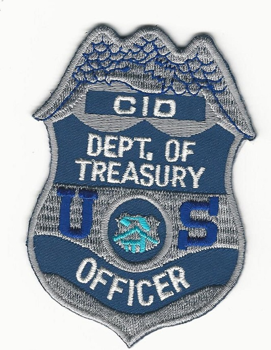 Dept of Treasury CID Police Officer