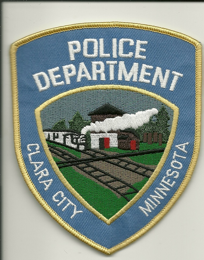 Clara Police Minnesota MN TRAIN patch