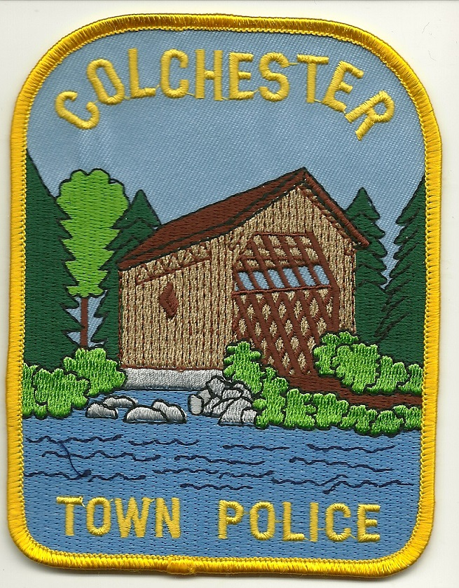 Colchester Police New York NY Covered Bridge