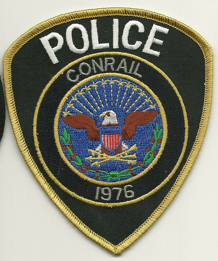 Conrail Railroad Police Eagle patch (last Issue)