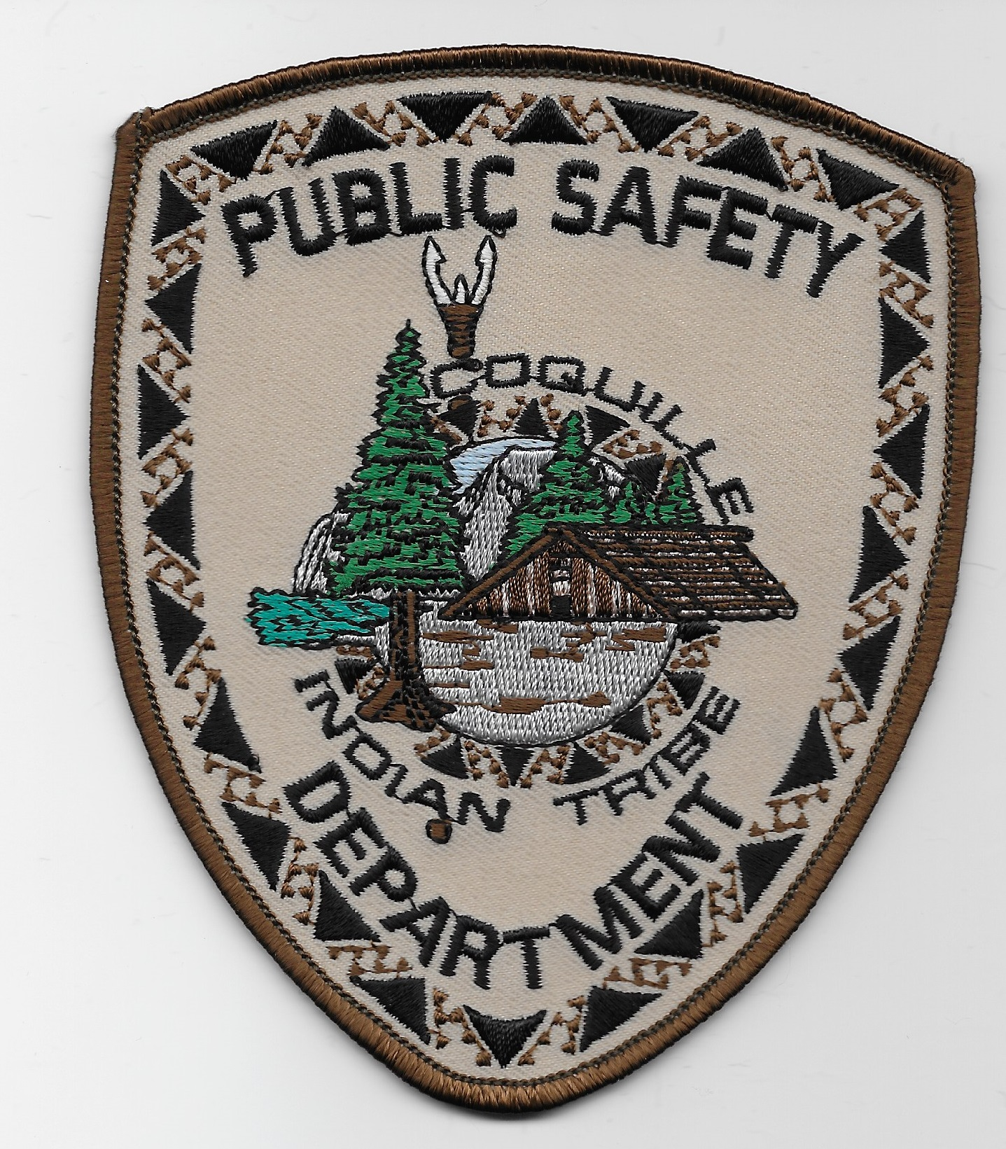Coquille Tribal Pub Safety Police OR
