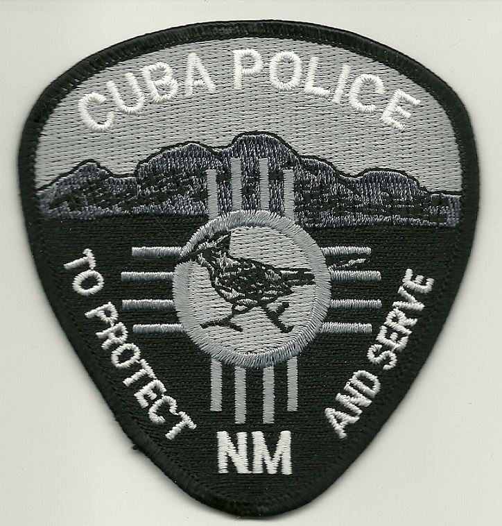 Cuba Police State New Mexico NM patch