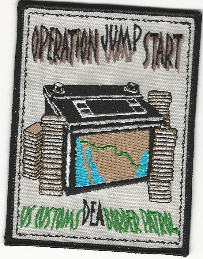 DEA US Customs Border Patrol Operation Jump Start