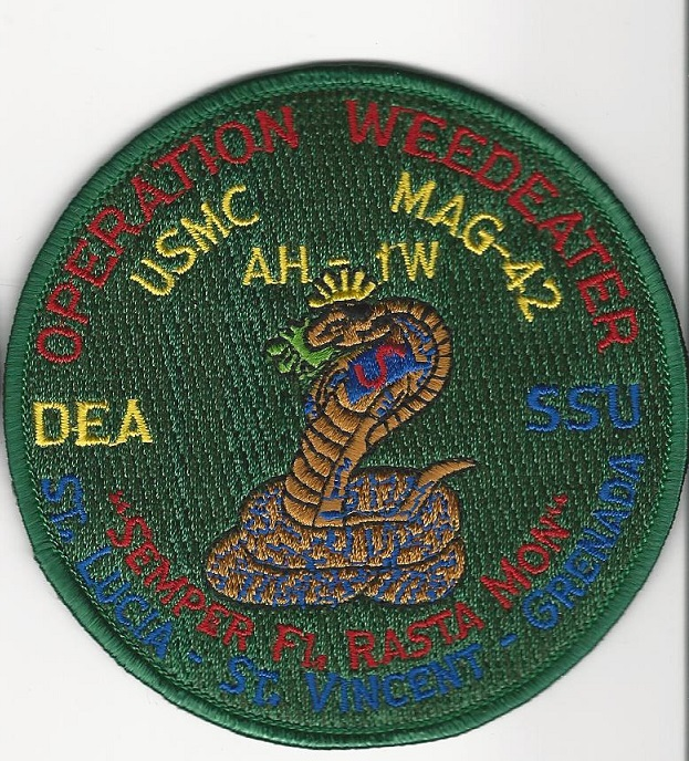 DEA US Marines Operation Weedeater