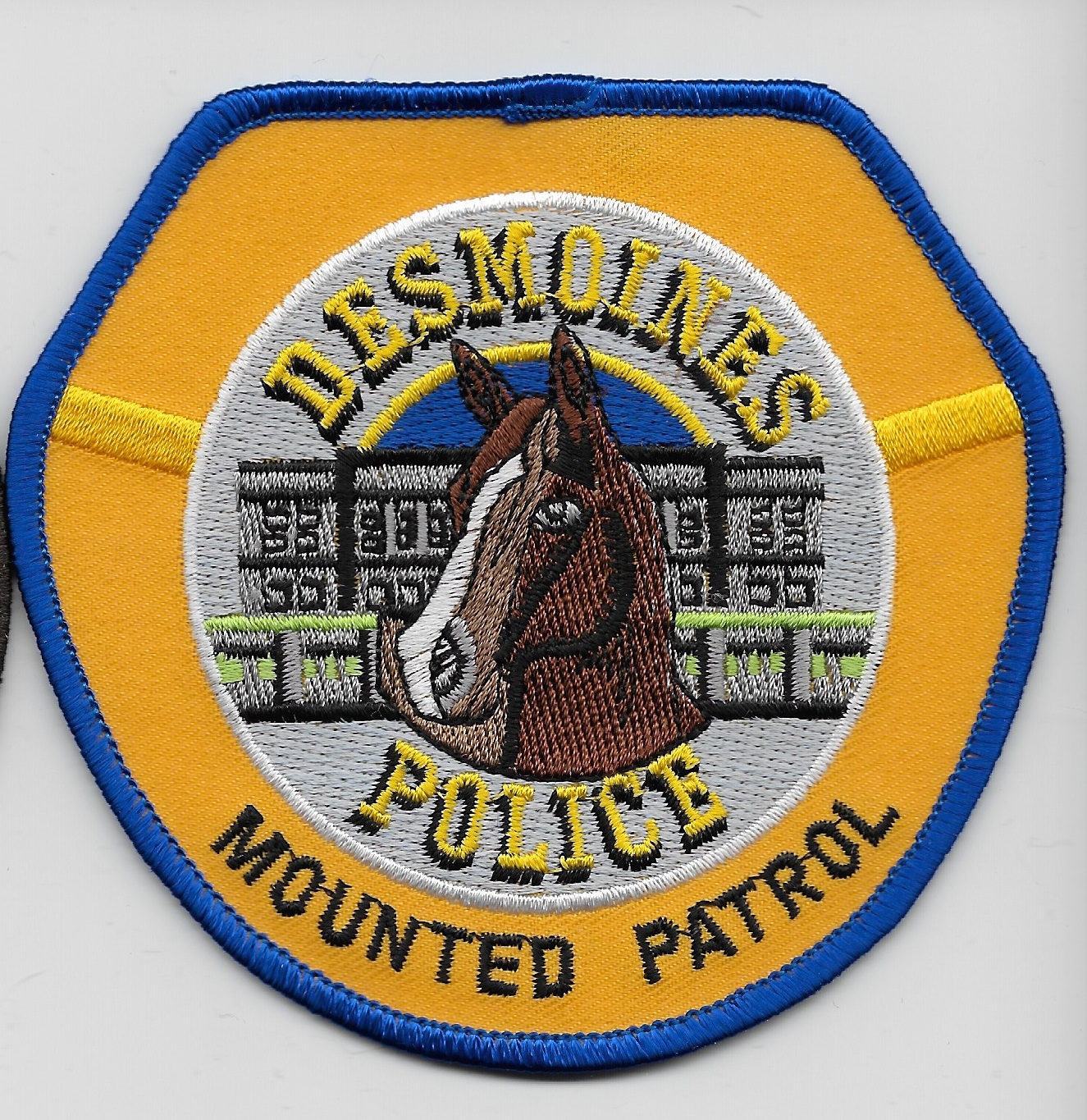 Desmoines Police Mounted IA