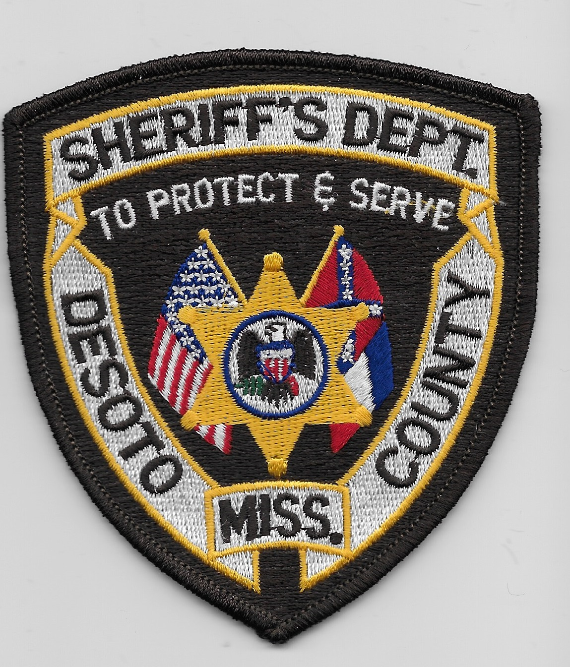 Desoto County Sheriff MS Conf Flag