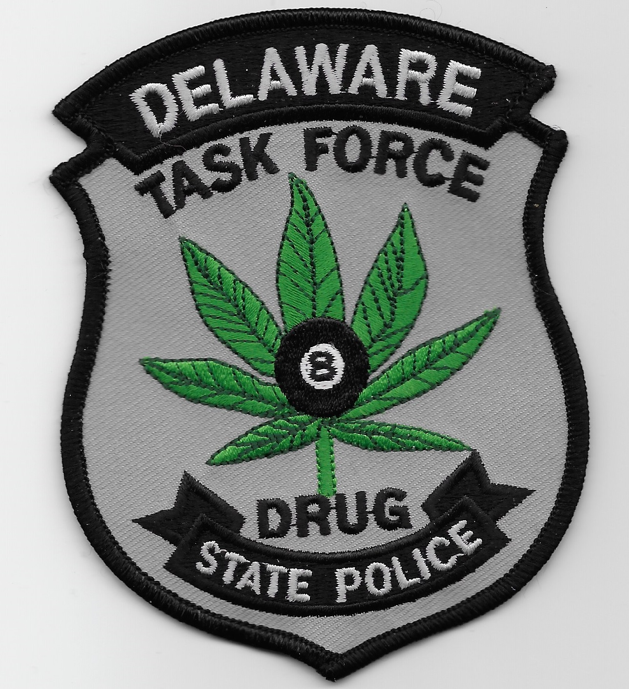 Delaware State Police Narcotics 8 Ball