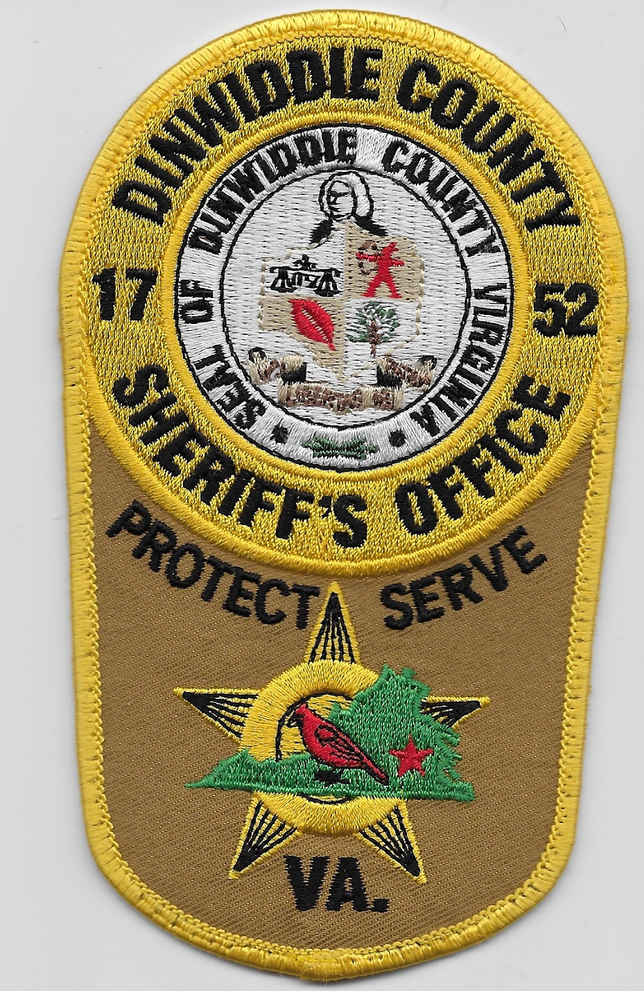 Dinwiddie County Sheriff VA