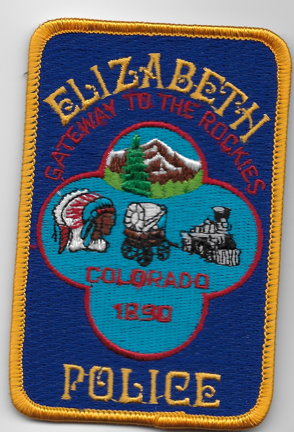 Elizabeth PD CO Train