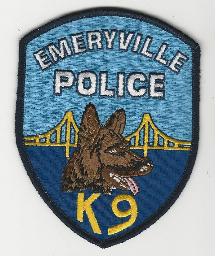 Emeryville Police K9 California