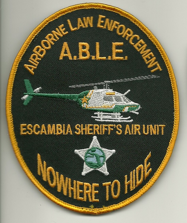 Escambia County Sheriff Aviation police patch