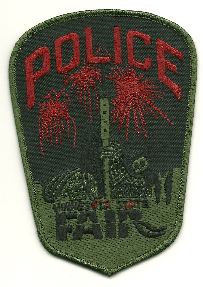 Minnesota State Fair Subdued SRT SWAT Patch