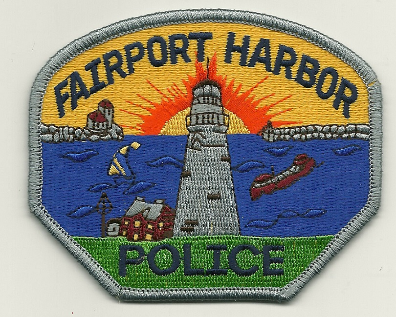 Fairport Harbor POlice Lighthouse patch