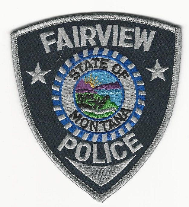 Fairview Police Montana MT patch